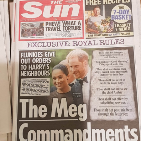 Harry Markle ~ Traditional British Pro-monarchy Satire! – The Tale